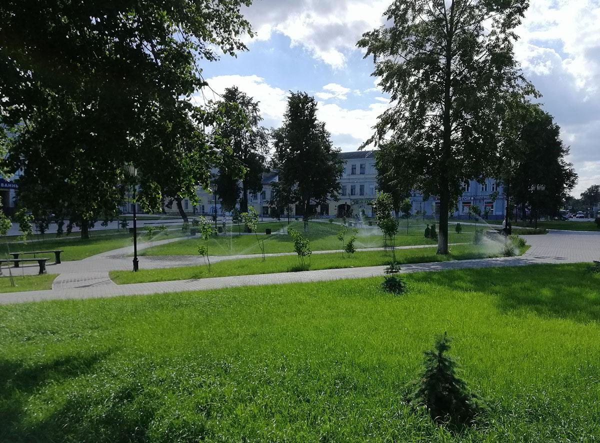 Системы полива Ижевск Пермь, Ландшафтный дизайн, Автополив, газон Ижевск, Благоустройство, Автоматический полив